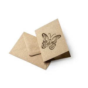 ümbrik kaart liblikas